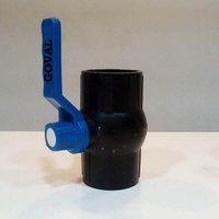 Pvc Ball Valve Black Long Handle