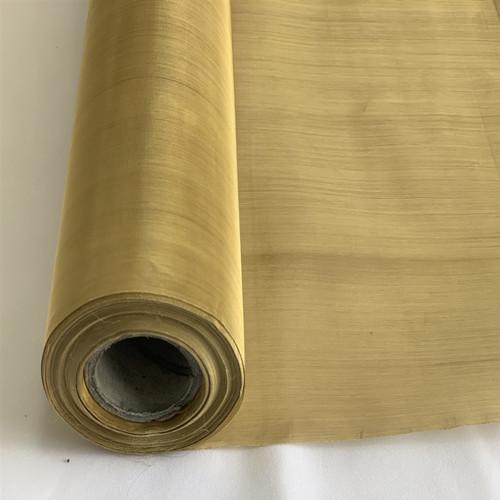 Brass Wire Mesh 100x100 mesh Plain weave