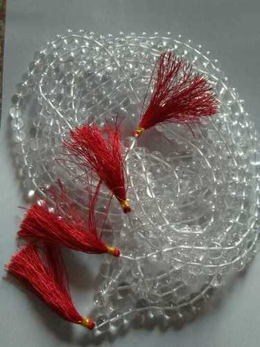 Crystal 109  Beads Mala Gemstone Beds