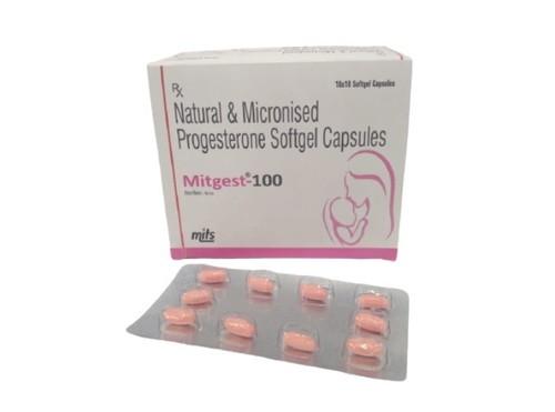 Natural Micronized Progesterone Capsules