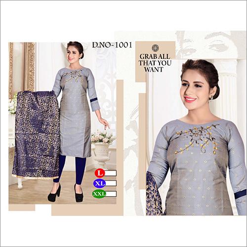Ladies Designer Churidar Suit