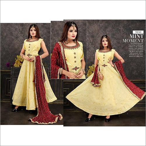 Ladies Ethnic Long Suit