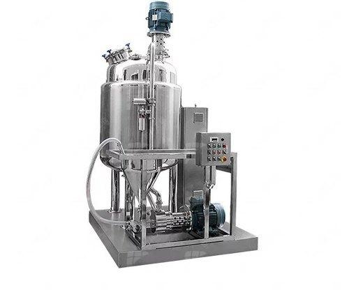 Batch solid-liquid mixing system
