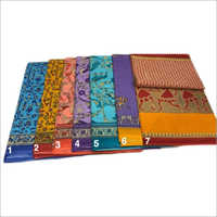 Ladies Cotton Chapa Saree