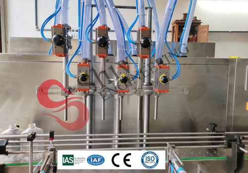Automatic Electronic Liquid  Filling Machine