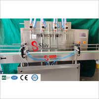 Automatic 4 Head Viscous Liquid Filling Machine