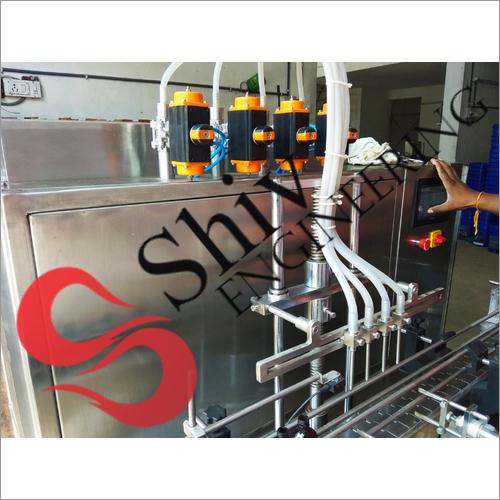 Glass Bottle Water Filling Machine