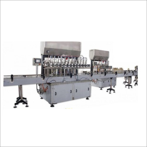 Fully Automatic Oil Filling Machine