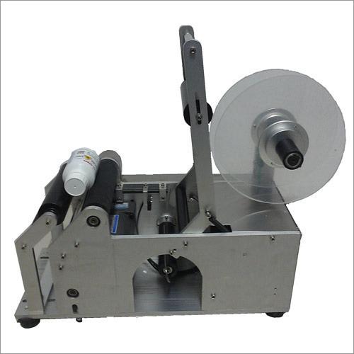Semi-Automatic Sticker Labeling Machine