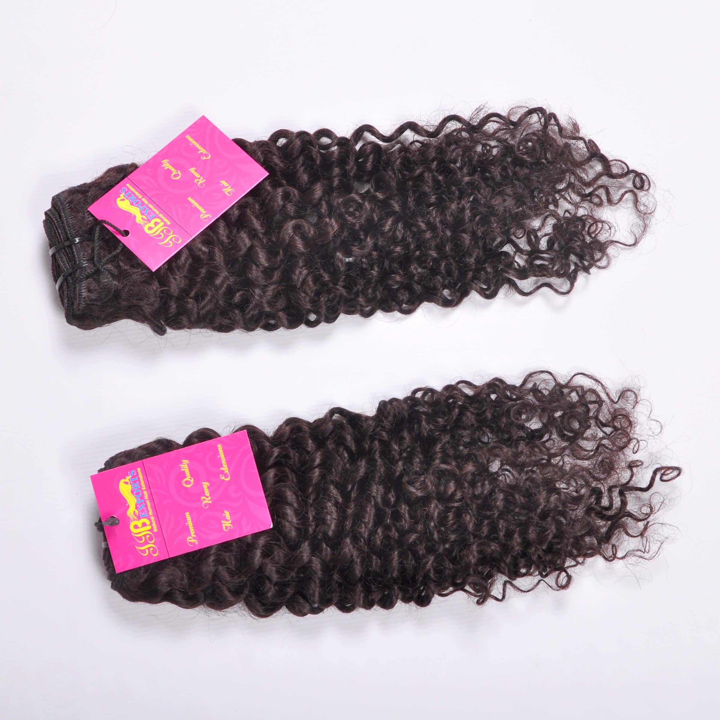 Deep Curly Virgin Indian/brazilian Cuticle Aligned Hair,unprocessed Wholesale Curly Deep Wave Hair Bundles