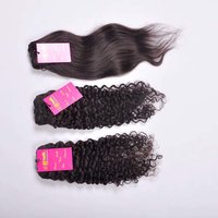 100% Natural Color Indian Virgin Loose Curly/straight/wavy Remy Brazilian/cambodian/peruvian Human Hair Extensions