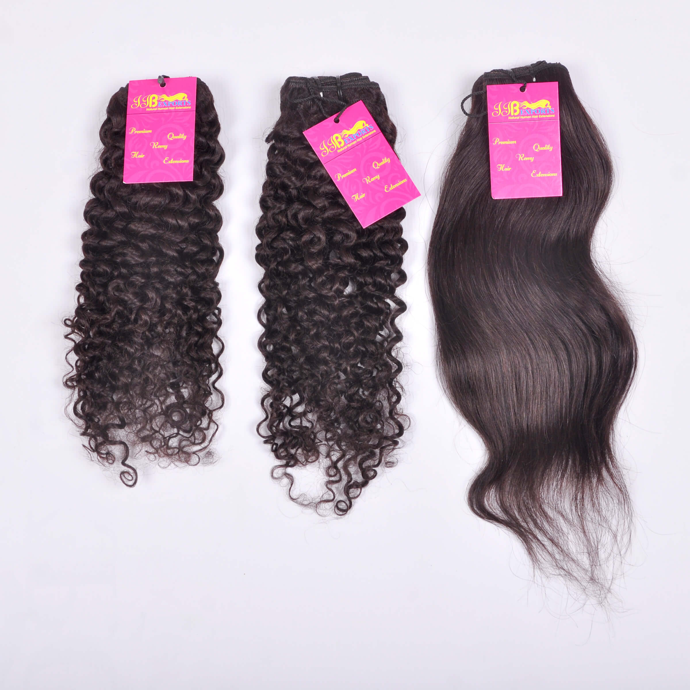 Raw Unprocessed Cuticle Aligned Indian  Tangle Free Natural Wavy/straight/curly Human Hair Bundle With Closure Frontal