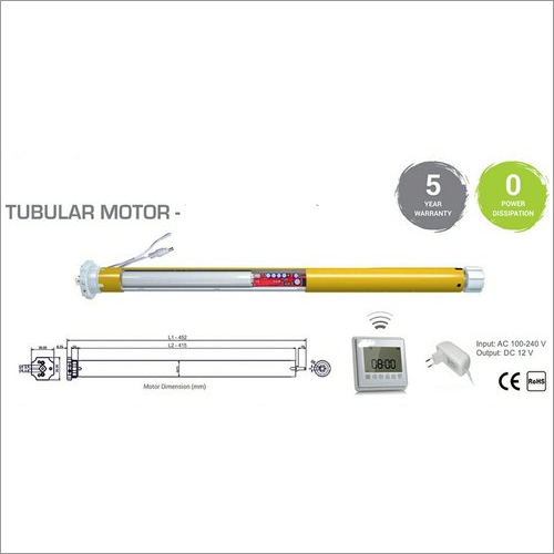Motorized Curtain Automation System