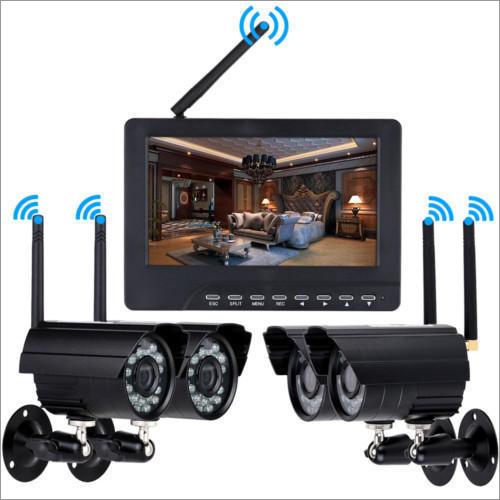 4 Channel Cctv Surveillance System Application: Cinema Theater