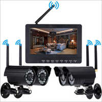 4 Channel CCTV Surveillance System