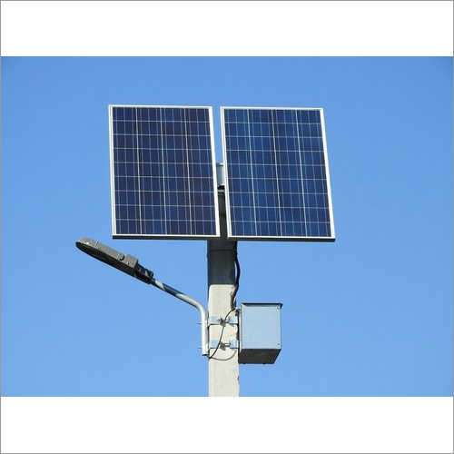 Dual Panel Solar Street Light