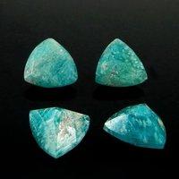 5mm Amazonite Faceted Trillion Loose Gemstones