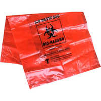 Biohazard Waste Bag Without Sterilize Indicator