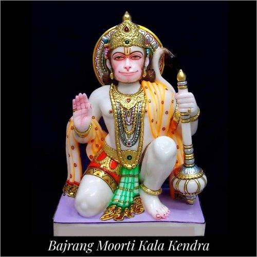Marble Lord Hanuman Statue