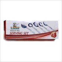 Stainless Steel Serving Spoon Set