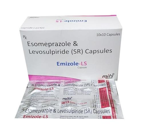 Esomeprazole sodium and levosulpiride capsule