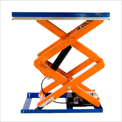 Hydraulic Pit Mounted Scissor Lift Table