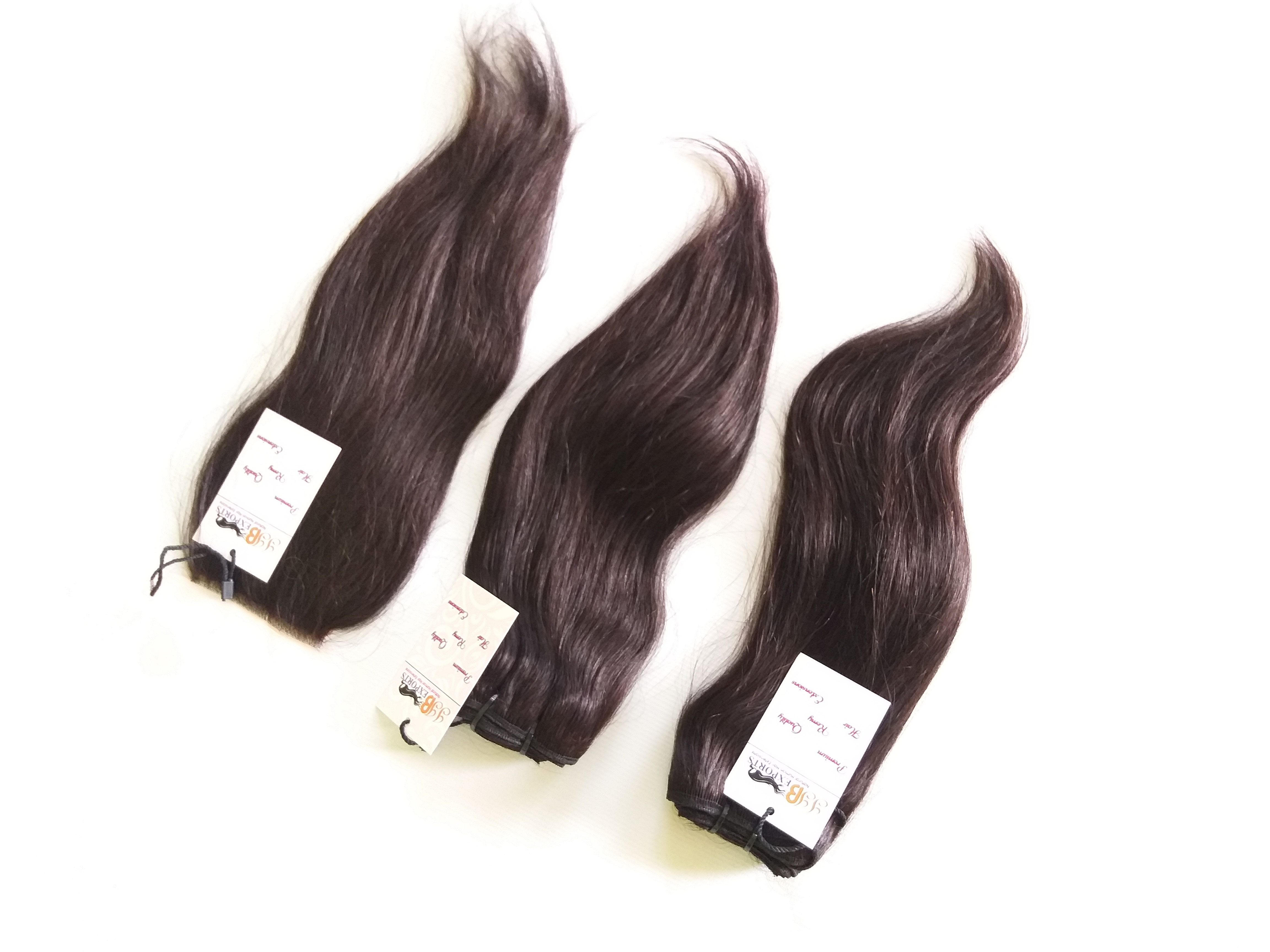 High quality raw indian virgin straight/curly/wavy/bodywave remy human hair extensions