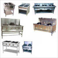 Commercial Two And Three Burner Gas Stove