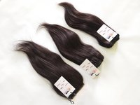 Remy Hair Bundles With Lace Closure frontal Wholesale Brazilian straight Human Hair Extensions