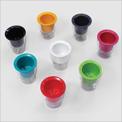 Clear Series Acrylonitrile Butadiene Styrene Pot