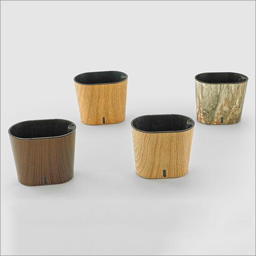Dot Wood Cavender Printed Series Pot