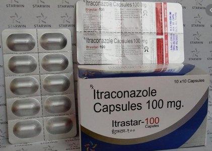 Itraconzole 100mg/200mg capsules