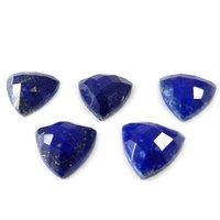 4mm Lapis Lazuli Faceted Trilion Loose Gemstones