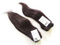 Super Single Double Drawn Straight Human Hair Bundles Brazilian Raw hair with Closures