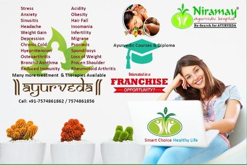 Panchkarma Diploma And Course available at Niramay Ayurvedic Hospital