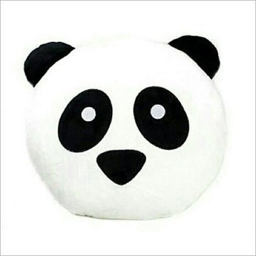 Set Of 1 Kids Emoji Panda Pillow