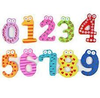 Magnetic Wooden Number