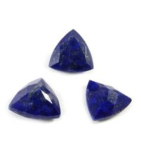 12mm Lapis Lazuli Faceted Trilion Loose Gemstones