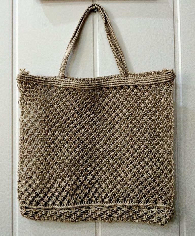 Macrame and crochet bags