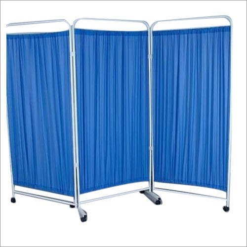 GH030 Curtain 3 Panel Bedside Screen