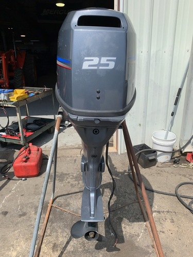 FAIRLY USED OUTBOARD ENGINES AND SPARE PARTS