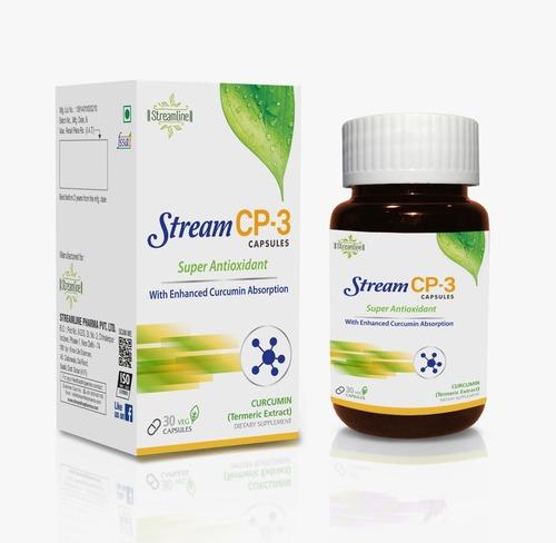 Streamline 100% Herbal Stream CP-3 Super Antioxidant 30 Capsules