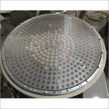 Sandwich Screen Ring With Perforated Ball Tray
