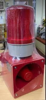 ELECTRONIC HOOTER WITH REVOLVING LIGHT