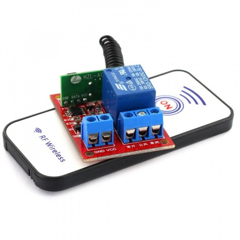 RF WIRELESS RELAY MODULE WITH REMOTE CONTROL 12V 1 CHANNEL