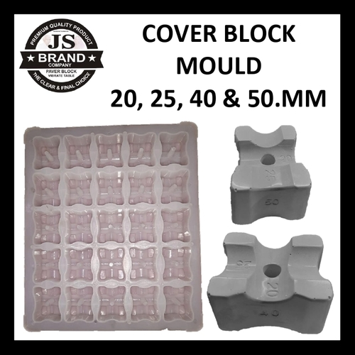 Cover Block Mould in 20, 25, 40, 50.MM