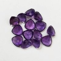 4mm African Amethyst Faceted Trillion Loose Gemstones