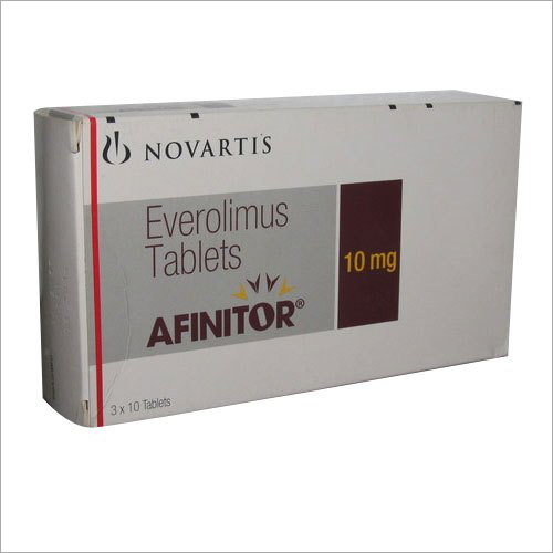 10mg Afinitor Everolimus Tablet