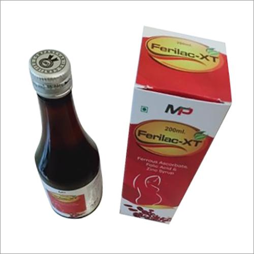 Ferrous Ascrobate - Folic Acid And Zinc Syrup