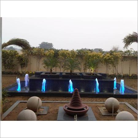 Modern Outdoor Foam Jet Fountain